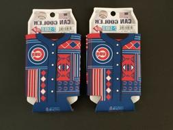 2) WINCRAFT CHICAGO CUBS CAN COOLERS