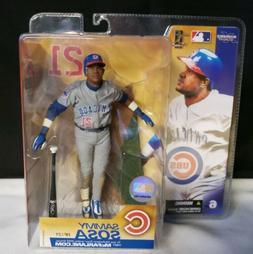 2003 McFarlane MLB Series 6 Sammy Sosa #21 Chicago Cubs Acti