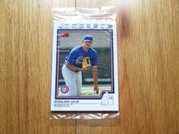 2004 Topps Chicago Cubs Factory Sealed Bonus Pack Set