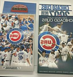 2007 2008 2009 2010 Chicago Cubs Media Guides  -  four books