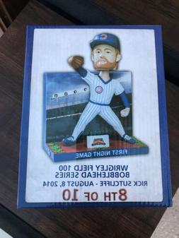 2014 CHICAGO CUBS RICK SUTCLIFFE FIRST NIGHT GAME BOBBLE HEA