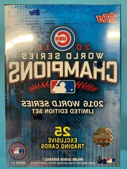 2016 Chicago Cubs Topps World Series Champions Limited Editi