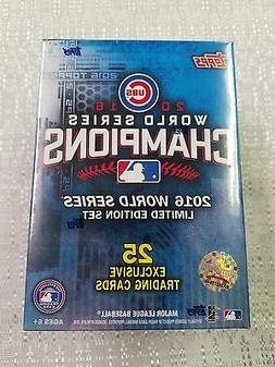 2016 Topps Chicago Cubs world series champions 25-card box s
