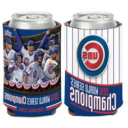 2016 World Series Champions Chicago Cubs Can Cooler 12 oz. K