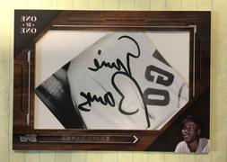 2019 Topps Ernie Banks Cut Signature AUTO 1/1 One of One Chi