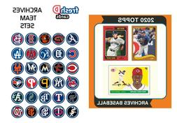 2020 Topps Archives Team Set Pre-Sale Chicago Cubs Bryant Ba