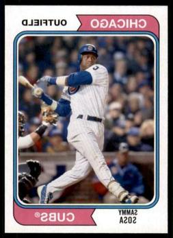 2020 base 175 sammy sosa chicago cubs