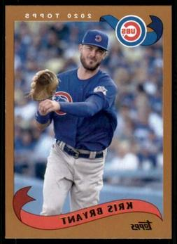 2020 Archives Base #299 Kris Bryant - Chicago Cubs