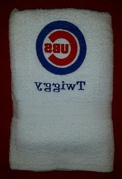 3 PC CUSTOM - PERSONALIZE CHICAGO CUBS BASEBALL MLB BATH GYM