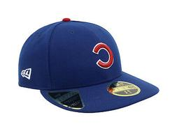 New Era 59Fifty Hat Mens MLB Low Profile Chicago Cubs Royal