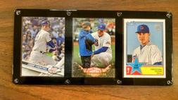 ANTHONY RIZZO 3 CARD PLAQUE SCREWDOWN CHICAGO CUBS