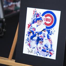 Anthony Rizzo #44 - Unique Artwork - Chicago Cubs- 3D Effect