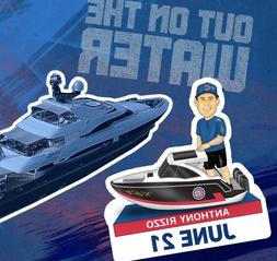 "Anthony Rizzo ""Out on the Water"" Bobblehead Figure Chicago C"