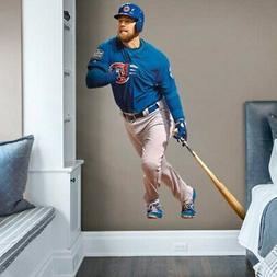 Ben Zobrist Chicago Cubs Fathead Life Size Removable Wall De