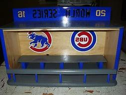 Chicago Cubs Bobble Head Display Case World Series 2016 Hand