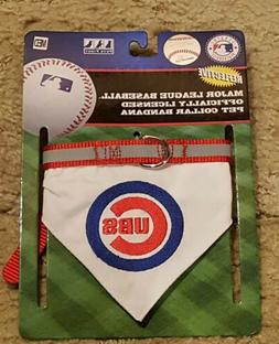Brand New Chicago Cubs Pet Collar Bandana