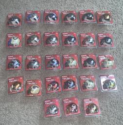 Brand New Riddell Pocket Chrome football helmets NFL 27 Diff