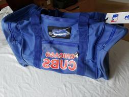 "Brand new vintage Starter brand, ""Chicago Cubs"" duffle bag"