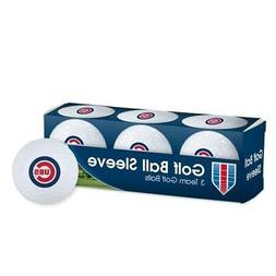 CHICAGO CUBS ~  Sleeve of  Team Logo Golf Balls ~ New in Box