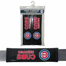 chicago cubs 2 velour seat belt laptop