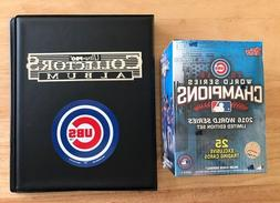 Chicago Cubs 2016 Topps Baseball World Series Champions Box