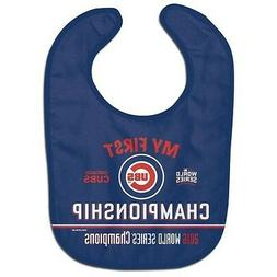 CHICAGO CUBS 2016 WORLD SERIES CHAMPIONS  BABY BIB