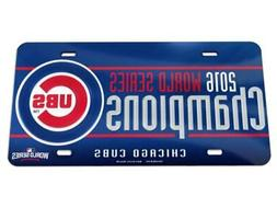 Chicago Cubs 2016 World Series Champions Crystal Mirror Lice