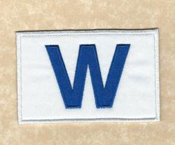 "⚾ CHICAGO CUBS 2016 World Series Champions ""W Flag"" Iron-o"