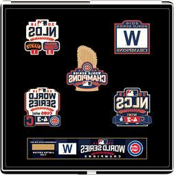 Chicago Cubs 2016 World Series Champs Commemorative Pin Set