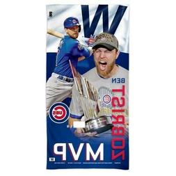 Chicago Cubs 2016 World Series MVP Ben Zobrist Soft Spectra