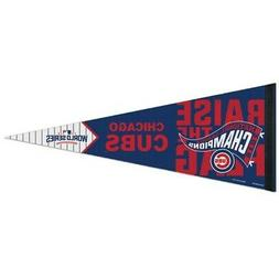CHICAGO CUBS - 2016 World Series NL Champions 12x30 Premium