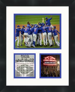 Chicago Cubs 2016 World Series Photo Collage Framed Memorabi