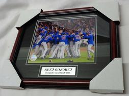 Chicago Cubs 2016 World Series Champions Framed Matted Pictu