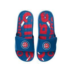 Chicago Cubs 2020 MLB Men's GEL Slide On Sandal FREE SHIP!