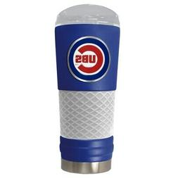CHICAGO CUBS 24 OZ. STAINLESS STEEL VACUUM INSULATED TRAVEL