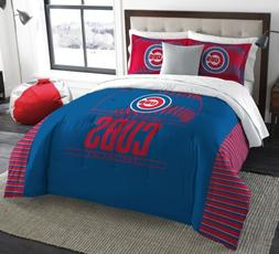 chicago cubs 3 piece king size comforter