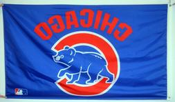 Chicago Cubs 3' x 5' Flag MLB Banner Man Cave US shipper