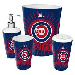 Chicago Cubs The Northwest Company 4-Piece Bath Set