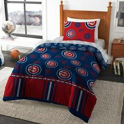 chicago cubs 4 piece twin bed in
