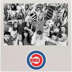 "Chicago Cubs 4"" x 6"" Aluminum Picture Frame"