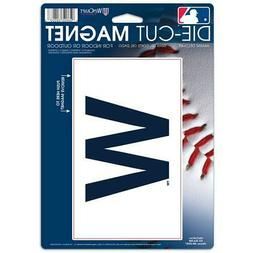 "Chicago Cubs WinCraft 6"" x 9"" Car Magnet"