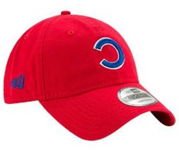 Chicago Cubs New Era 920 MLB Core Classic Adjustable Red Bas