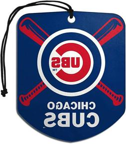 Chicago Cubs Air Freshener Fresh Scent 2 Pack Car Truck NEW
