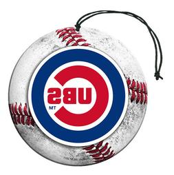 Chicago Cubs 3 Pack Air Freshener Nu-Car Scent