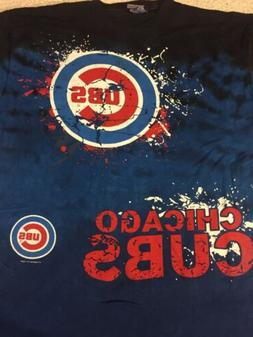 Chicago Cubs Awesome Tie Dye T-Shirt XL NWT