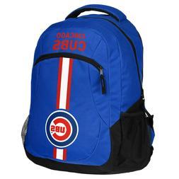 chicago cubs backpack action laptop bag mlb