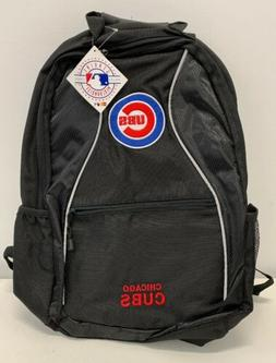 Chicago Cubs Backpack Brand NEW Mens Black Embroidered Cubs