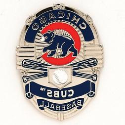 CHICAGO CUBS BADGE COLLECTOR PIN BRAND NEW FREE SHIPPING WIN