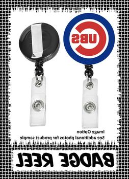 Chicago Cubs - Badge Reel - Choose From 12 Designs