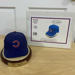 Chicago Cubs Baseball Cap Figurine Hat Limited Edition Memor